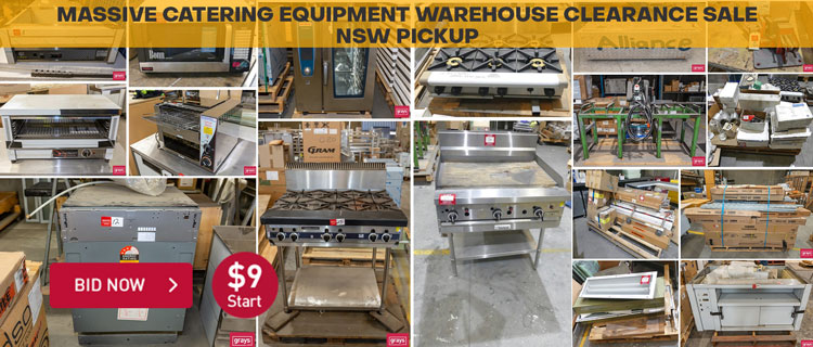 Massiv Catering Equipment Warehouse Clearance