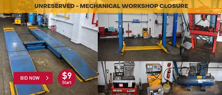 Mechanical Workshop Closure