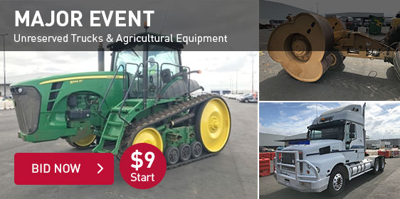 Unreserved Trucks & Agricultural Equipment