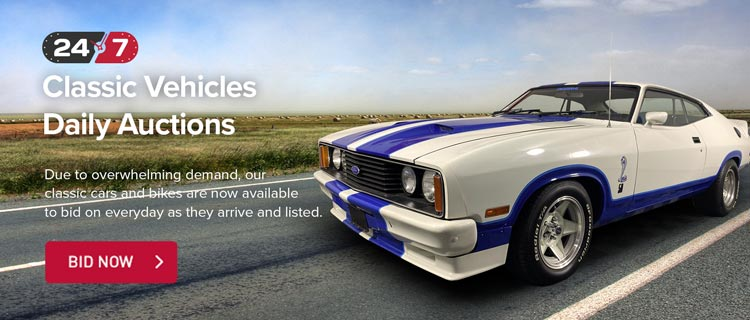Classic Vehicles Daily Auctions