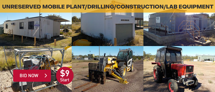 Unreserved Mobile Plant/Drilling/Construction/Lab Equipment