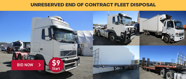 Unreserved End Of Contract Fleet Disposal