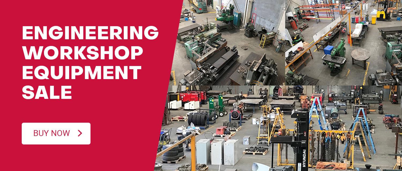 Engineering Workshop Equipment Sale