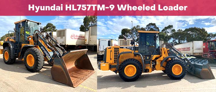 Hyundai HL757TM-9 Wheeled Loader