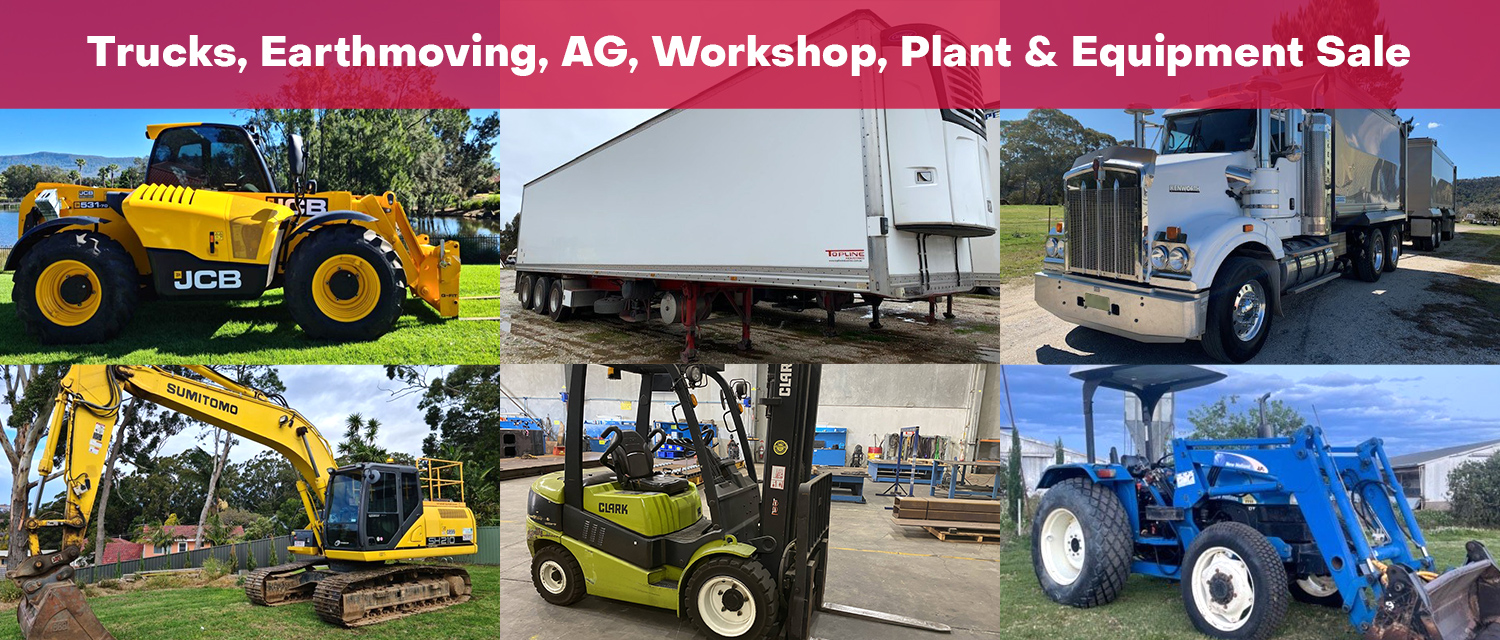 Agricultural, Machinery & Transport Multi Vendor Auction - NSW