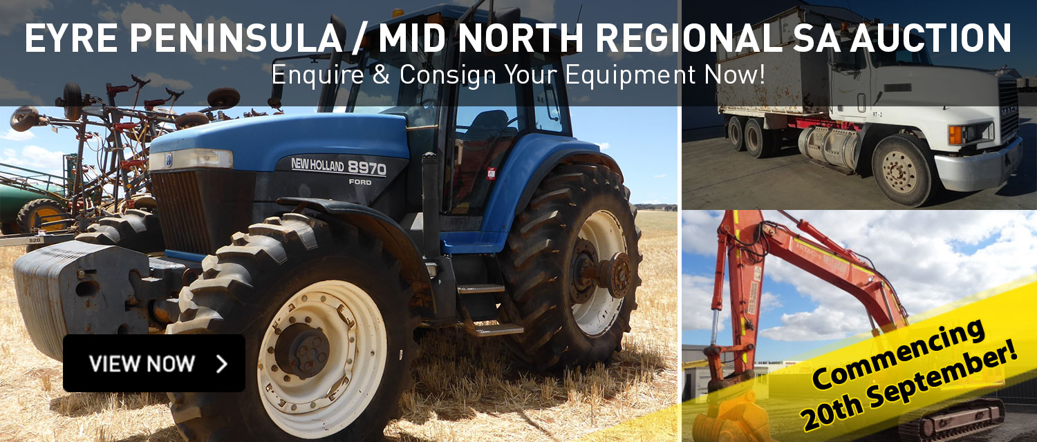 Eyre Peninsula / Mid North Regional SA Auction