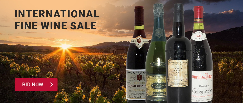 International Fine Wine Sale