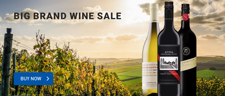 Big Brand Wine Sale