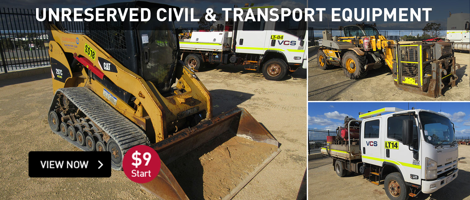 unreserved civil and transport equipment