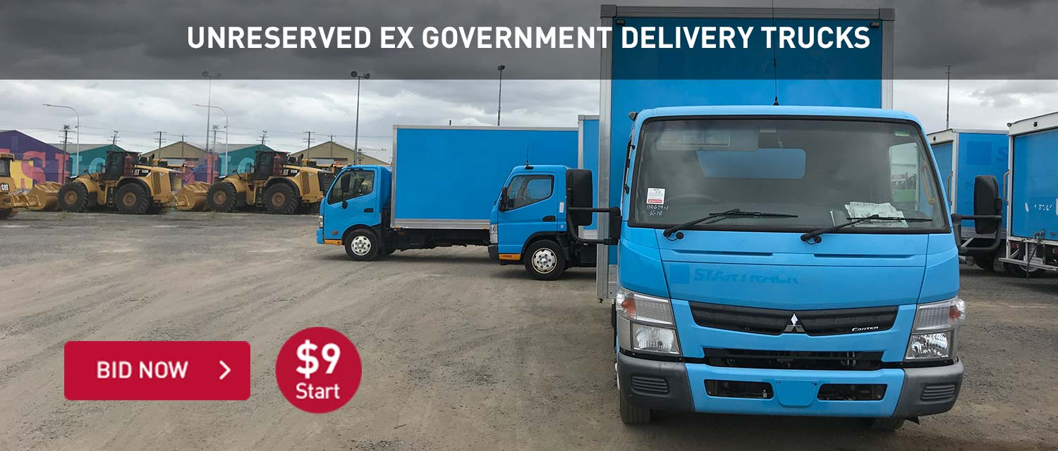 Unrserved Ex Government Delivery Trucks