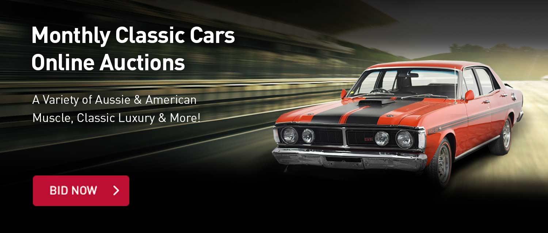 Classi Cars Online Auctions