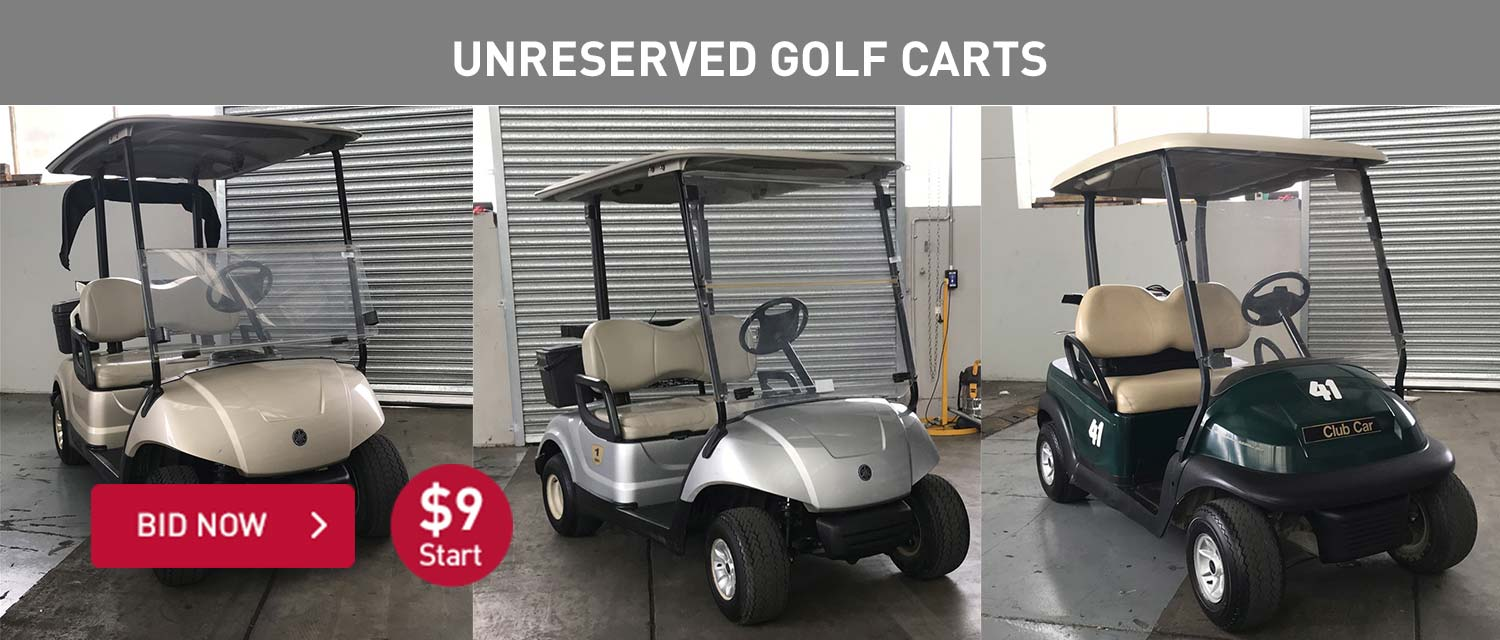 Unreserved Golf Carts