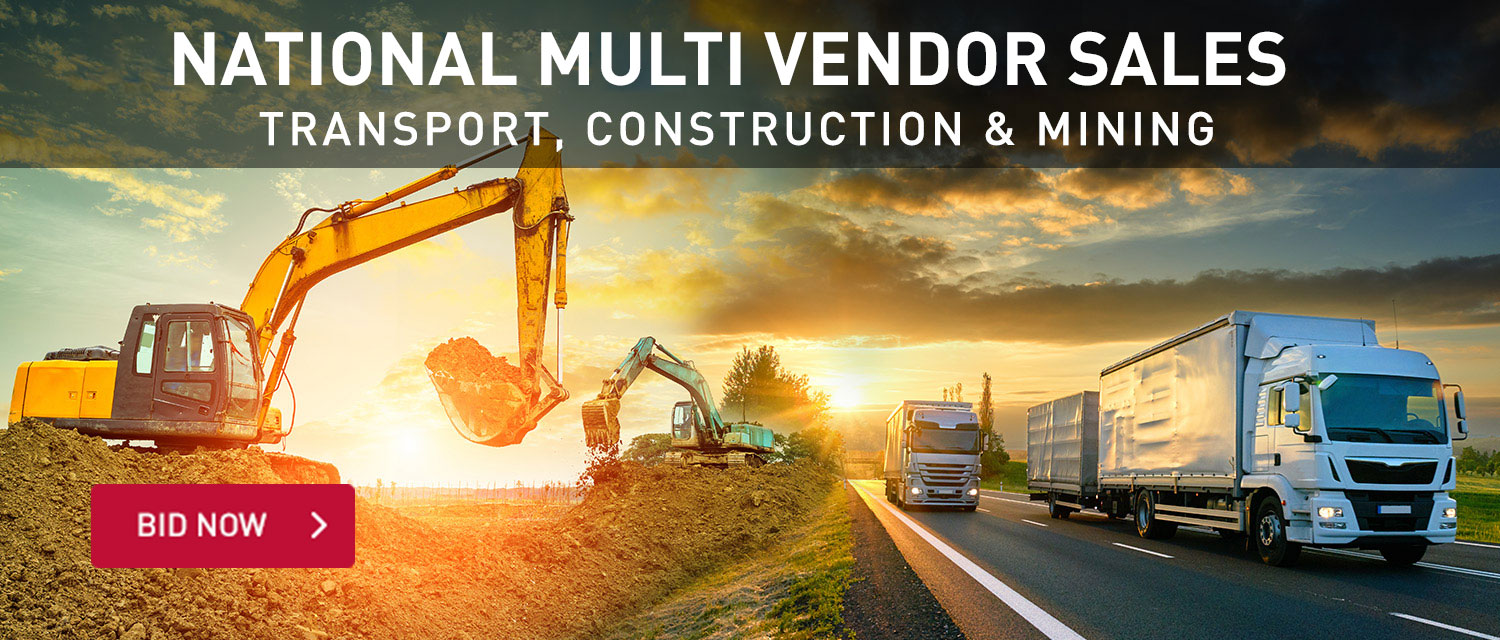 National Multi Vendor Auction Transport, Construction and Mining