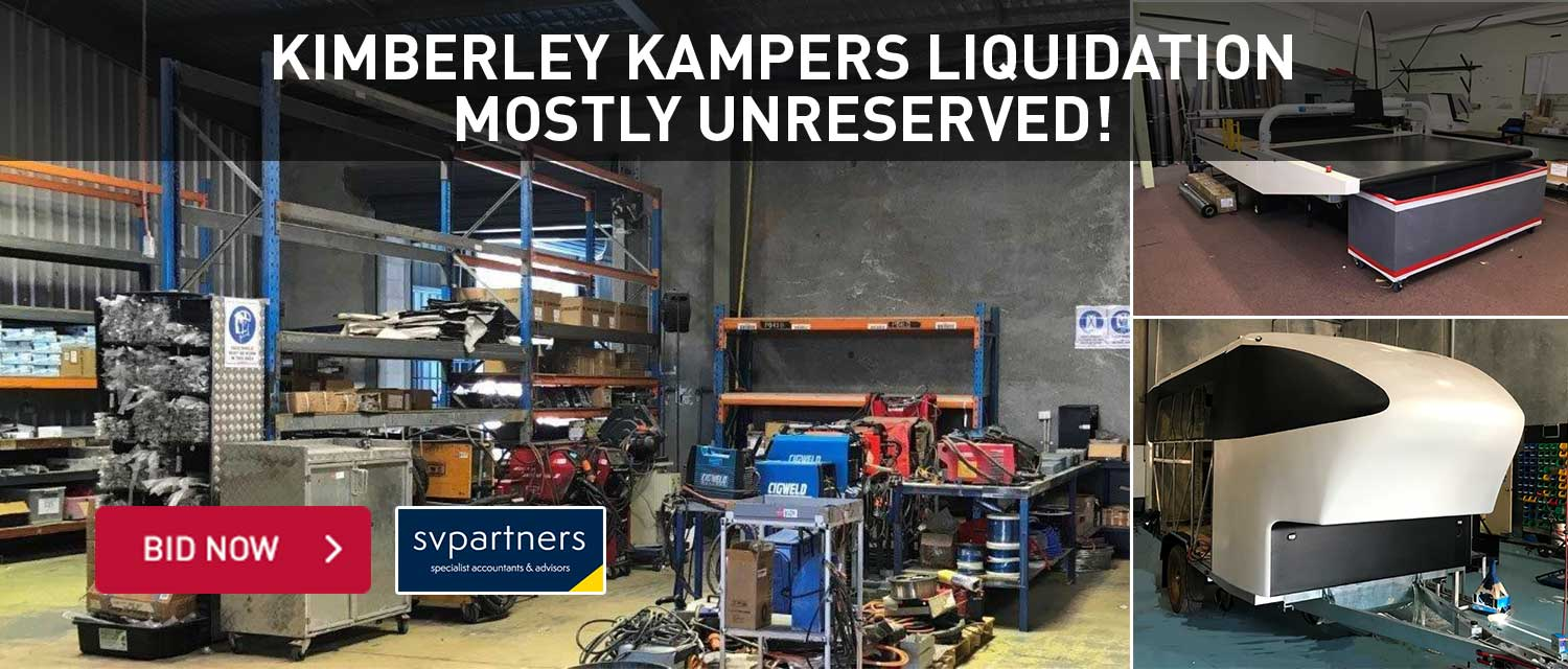 Kimberly kampers liquidation mostly unreserved!