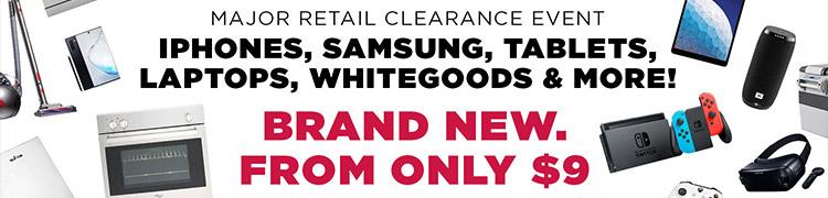 Major Retailer Clearance Sale