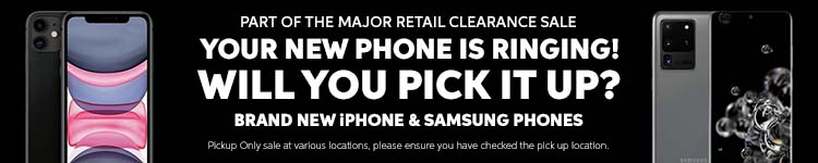 Part of the Major Retailer Clearance Sale | Brand New iPhones and Samsung Phones