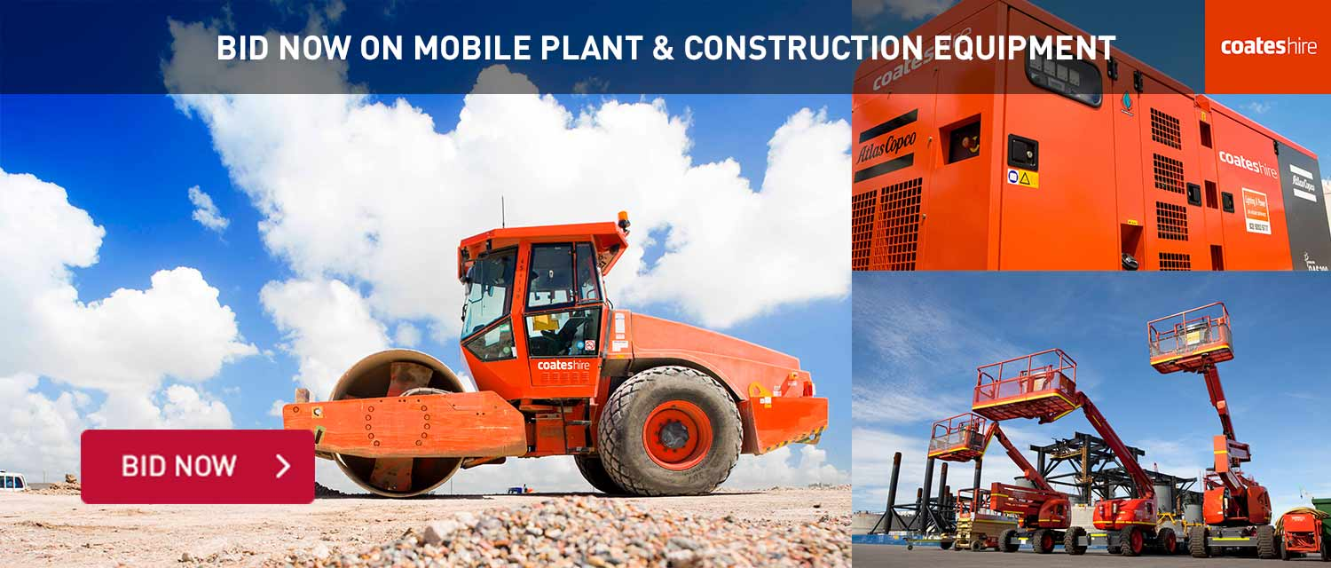 Mobile Plant & Equipment Auction