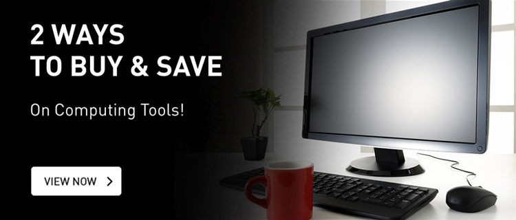 Two ways to buy and save on computing tools