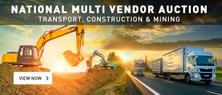 National Multi Vendor Auction - Transport, Construction and Mining