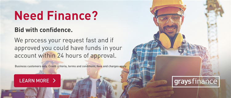 Need Finance? Bid with Confidence. GraysFinance