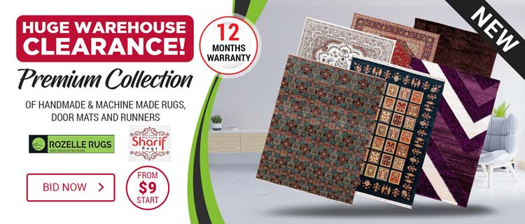 Premium Rugs Collection Clearance