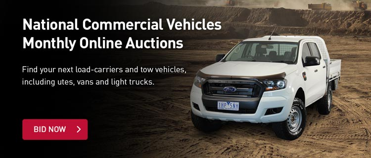 National Commercial Vehicles Monthly Online Auctions