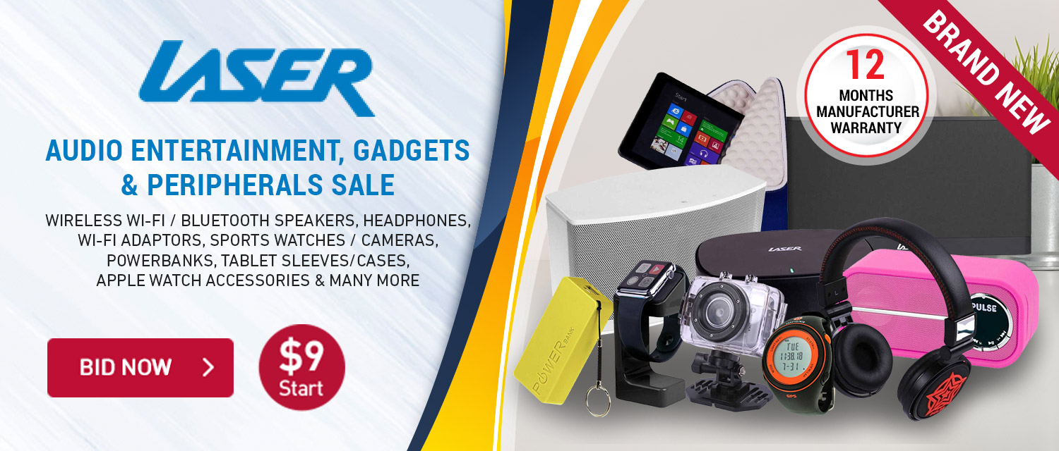 Laser Audio Entertainment, Gadgets and Peripherals Sale