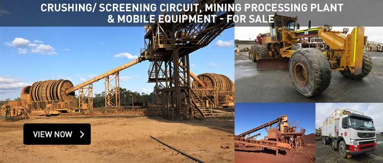Mobile Mining Equipment - EOI (WA & QLD)