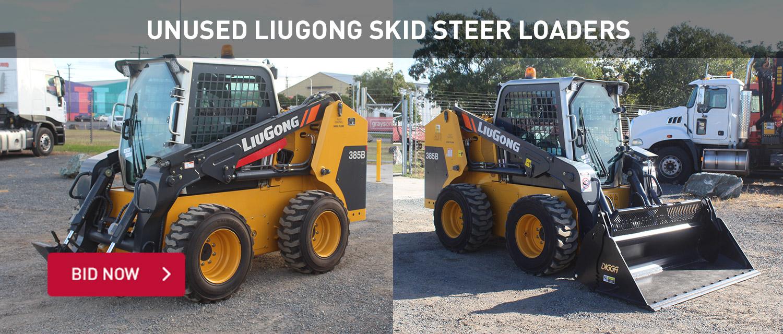 Unused Ligong Skid Steer Loaders