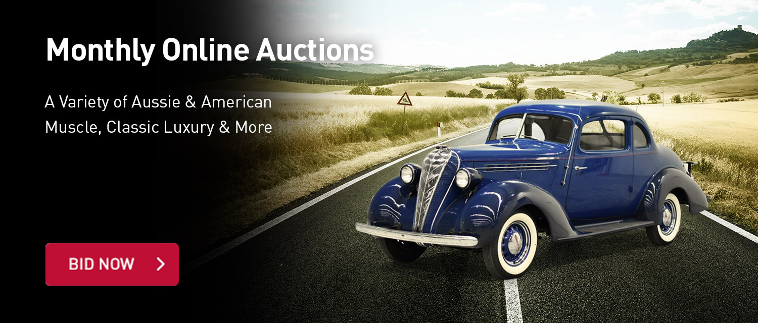 Monthly Classic Car Auction