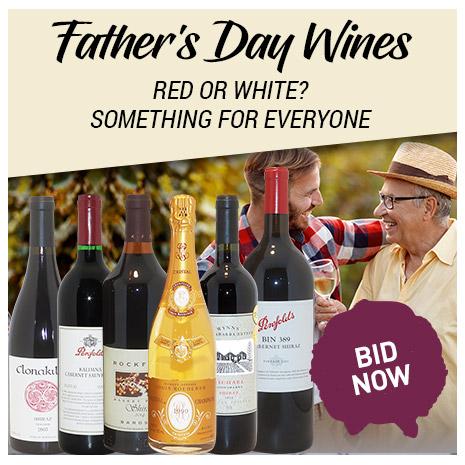 Father's Day Wine Sale | BID NOW