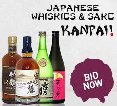 Japanese Whiskies and Sake