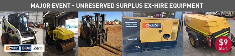 National Surplus Ex-Hire Equipment