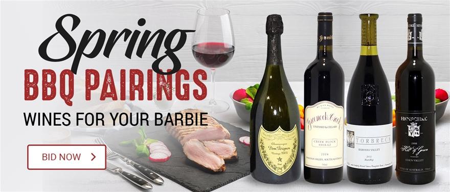 Spring BBQ Pairing Wine