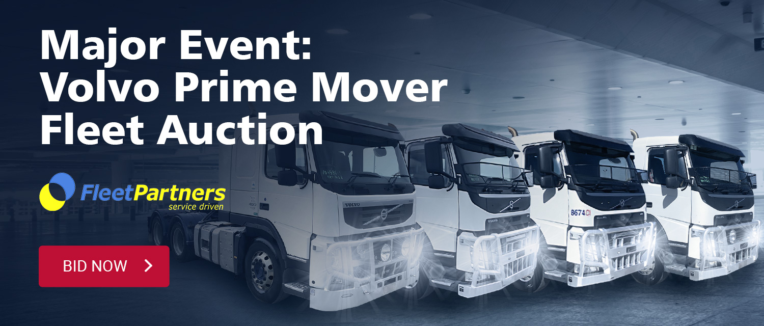 Major Event: Volvo Prime Mover Fleet Auction