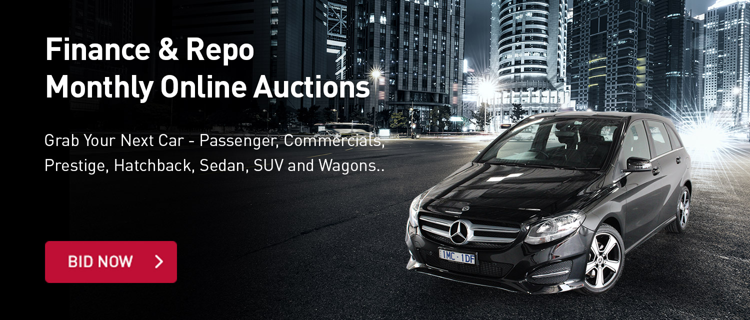 Finance and Repo Monthly Online Auction