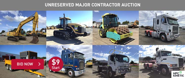 Unreserved Major Contractor Auction