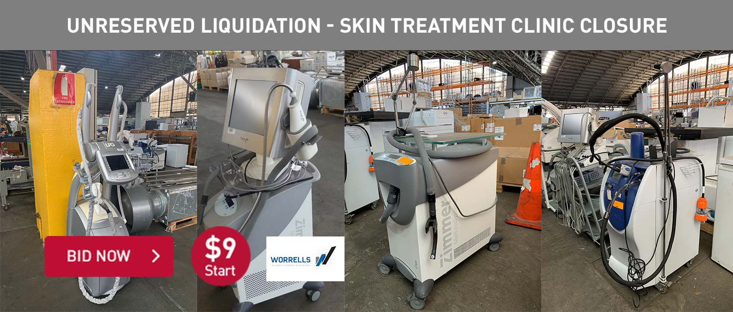 Unreserved Liquidation - Skin Treatment Clininc Closure