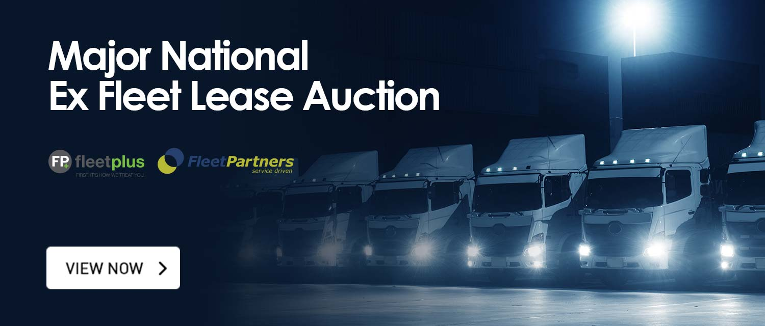 Major National Ex Fleet Lease Auction