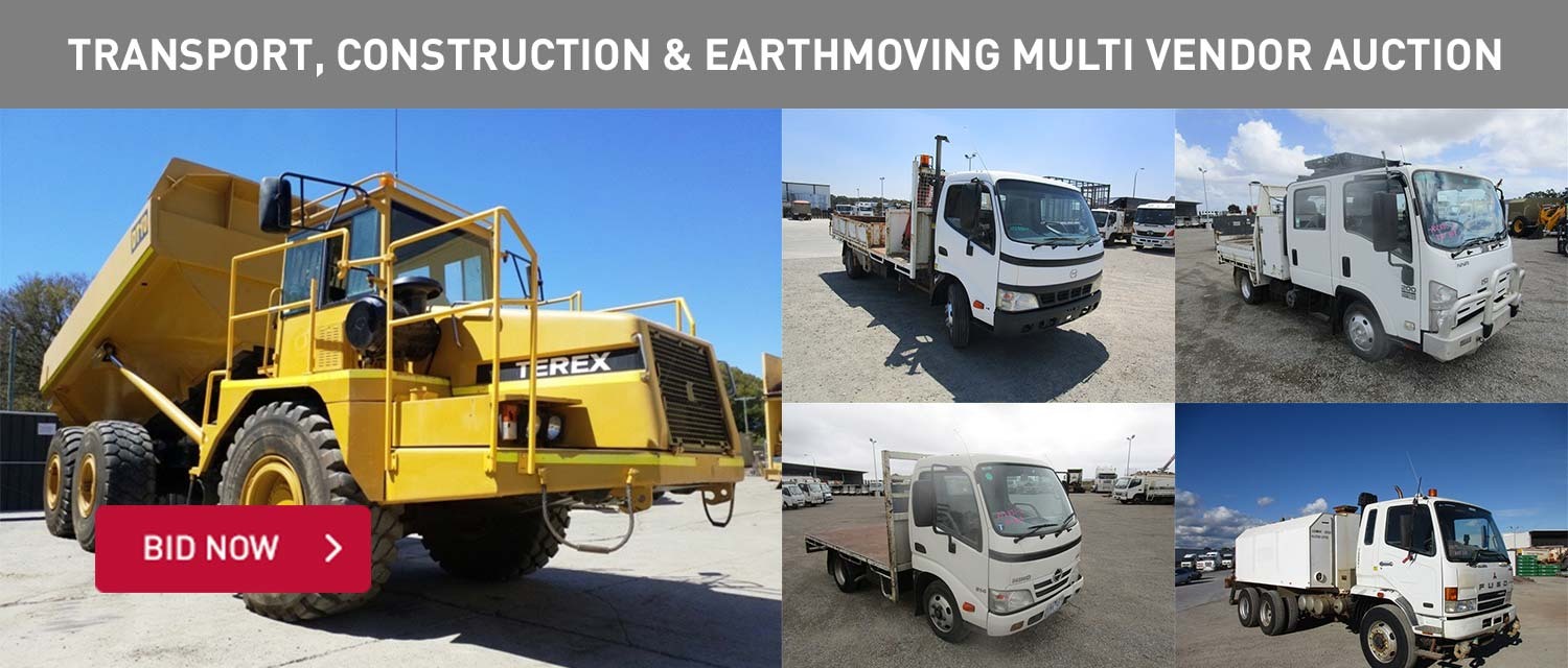 Transport, Construction & Earthmoving Multi Vendor Auction