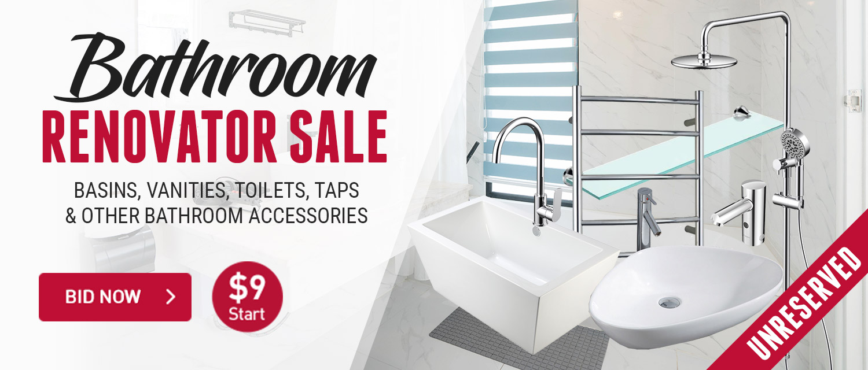 Bathroom Renovator Sale