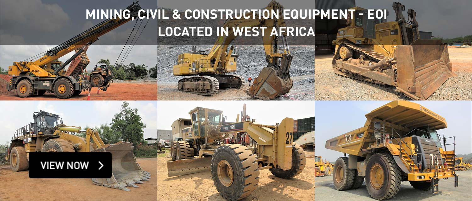 Mining, Civil & Construction Equipment - EOI | Located In West Africa
