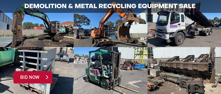 Demolition Equipment Sale