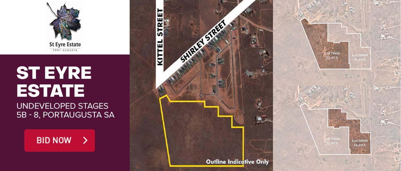 Shirley Street, St Eyre Estate Port Augusta West