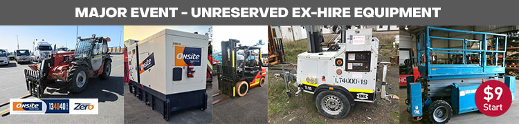 National Surplus Ex-Hire Equipment