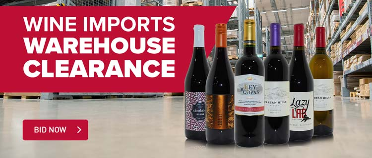 Wine Imports Warehouse Clearance