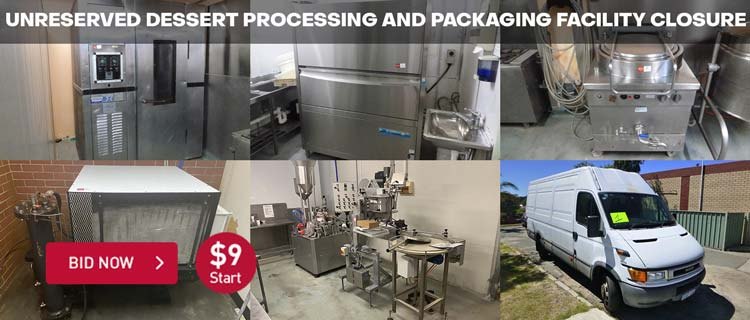 Unreserved Dessert Processing and Packaging Facility Closure