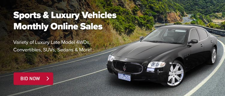 Sports & Luxury Vehicles Auction