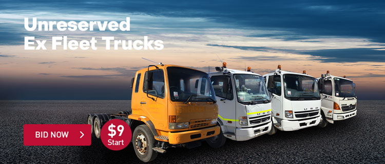 Unreserved Ex Fleet Trucks