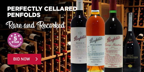 Perfectly Cellared Penfolds